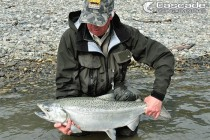Bar fishing for chinook salmon