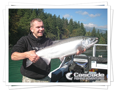 Cascade Coho Salmon Fishing in BC