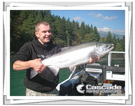 Cascade Coho Salmon Fishing in BC