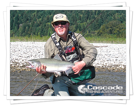 Cascade Pink Salmon Fishing in BC