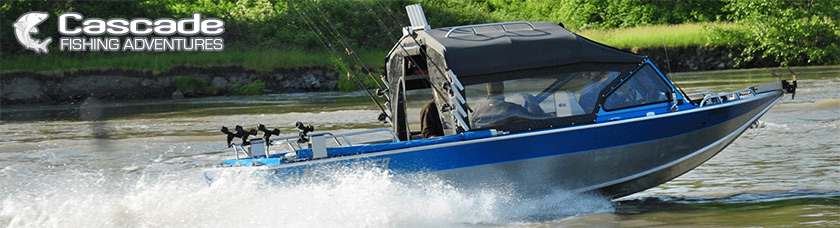 Cascade Fishing Adventures - Jet Boat