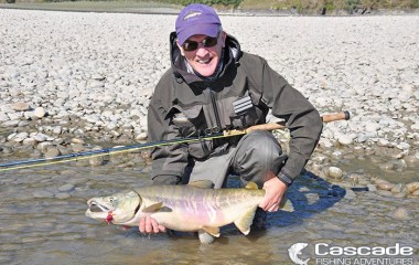Catching Chum Salmon on The Fraser River