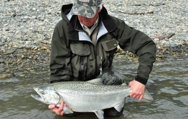 Chinook fishing in the Fraser River