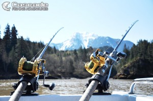 Fishing Against The Majestic Scenery of BC