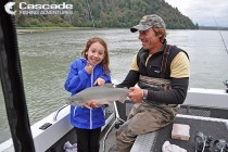 Pink salmon fishing on the Fraser River