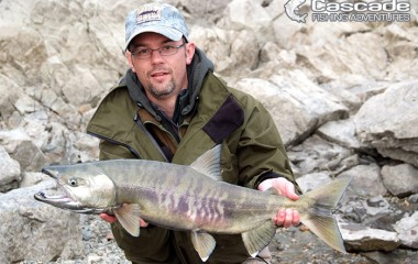 Spinning for chum salmon