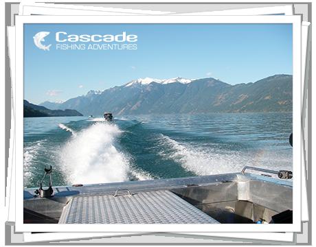 Cascade Steelhead Jet Boat Trips