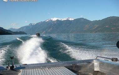 Jet Boat on Fraser River