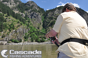 Fraser River Sturgeon Fishing Scenery