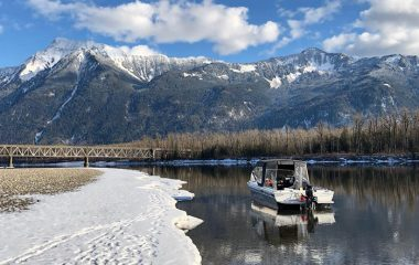 The Fraser River in Winter
